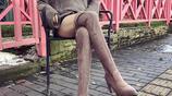 高幫過膝靴,輕鬆穿出逆天的腿型