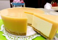 「做蛋糕」用益力多凍包心乳酪蛋糕 非常好吃 主要免烤箱