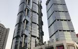 上海浦東陸家嘴三大高樓及夜景
