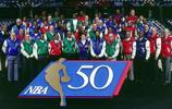 NBA50大巨星(1996)。能認出一半的就是鐵桿老球迷了