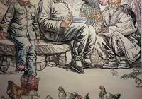 86歲老人13年畫一幅作品,寫實畫堪比冷軍,人物畫不輸範曾。