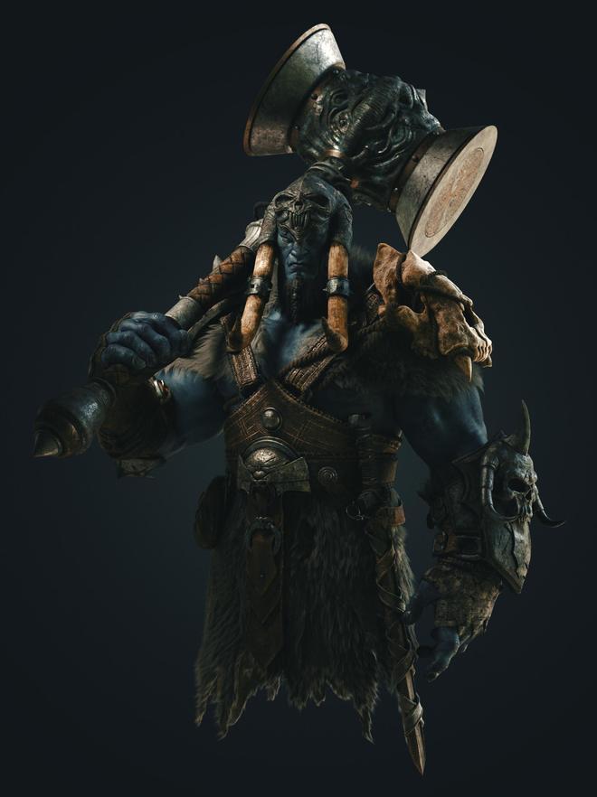 扛著大錘的藍皮膚怪物 有知道這個叫什麼名字