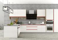 箭牌櫥櫃:富有現代感的廚房設計,極簡的線條美感十足