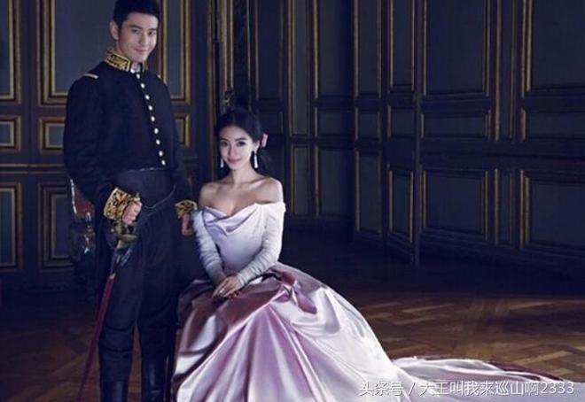 盤點明星婚紗照,劉詩詩吳奇隆最唯美,你覺得哪一組最有創意?