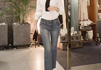 近年來最流行的款式之一便是喇叭牛仔褲,苗條不失優雅