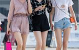 路人街拍,重慶陽光少女的夏季裝搭配