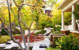 庭院設計:有月亮門和木柵欄的超美小院,地面鋪裝也可做的如此美