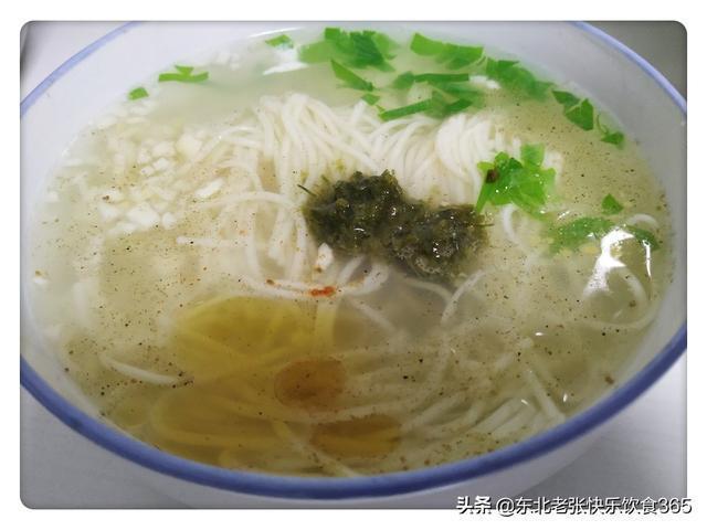 初七吃麵條就吃這樣的,蒜香濃郁韭花清香,做成湯麵口味最好