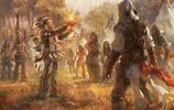 遊戲中那些歐洲中世紀的戰爭插畫