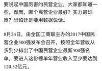2017中國民企500強出爐!臨沂上榜4家,山東上榜57家!