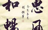 行書中國風,大字斗方,胡鐵軍書法:天行健,君子以自強不息