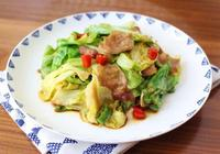 這些圓白菜的家常做法也太簡單了!快速炒一炒,好吃又下飯