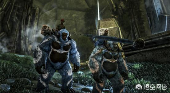 """《方舟:生存進化》玩家馴服""""類人生物""""巨猿後,有哪些刺激玩法?"""