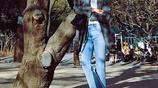 超模劉雯愛穿蝴蝶結鞋,wuli大表姐真的太時尚