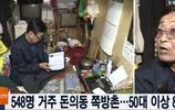 實拍韓國貧民窟的居民,僅3.3平米的居住面積
