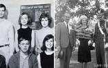 希拉里和特朗普新老照片對比,希拉里那些年美成花