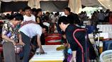 碼頭海鮮生意紅火 一斤賣2元至150元不等 市民成袋往家拎