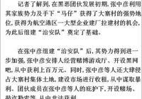河南鄭州黑惡勢力頭目張中彥二審被判20年