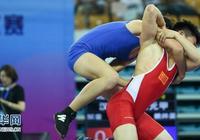 摔跤——全運會國際式摔跤測試賽舉行