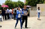 安徽和縣一中考點的高考第一天