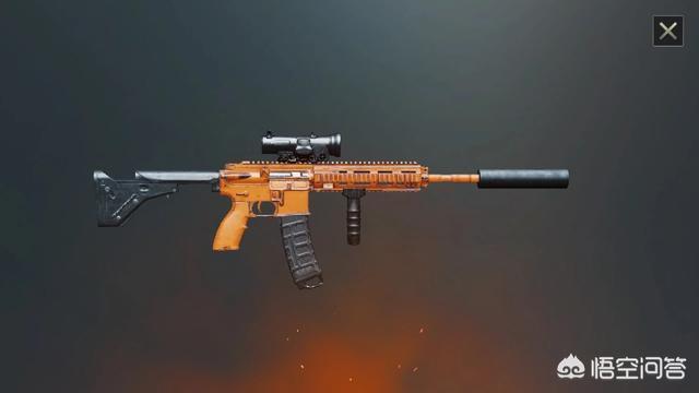 """為什麼《刺激戰場》中,王牌大神都不愛用M416,步槍""""槍王""""到底是哪一把?"""