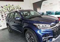 15萬喜提瑞虎8藍色6座精英版,車主大讚:6座比7座方便