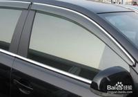 為什麼說汽車不要加裝車窗雨眉(晴雨擋)