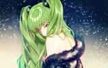 《反叛的魯魯修》魯路修VS魔女c.c.女王,畫面真的很甜