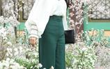 漂亮姐姐孫藝珍穿白色襯衫散發陽光味道,搭配高腰褲美極了