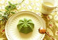抹茶西米椰漿糕的做法