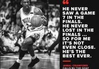 喬丹為什麼會是籃球之神?克勞福德說出了一個重要因素