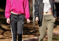 暮光女帶女友徒步,造型酷似比伯,網友:像艾瑪,卻活成比伯