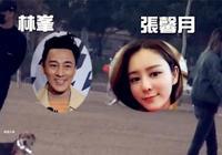 林峰與張馨月現身香港街頭遛狗,女方把頭靠他肩膀很是甜蜜