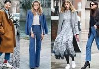 向超模女神學習,穿出今年的流行趨勢,冬天不露腳踝的時尚!