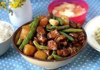 豆角土豆燉五花肉的做法,再加點蘿蔔乾,新鮮蔬菜營養美味