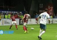 傳奇盃:中國足球隊7:4大勝意大利足球隊
