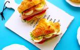 輕鬆玩轉三明治,幾分鐘搞定超好做的可頌三明治