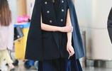 33歲李宇春撞衫42歲林志玲,同穿斗篷衫,這差距也太尷尬了!