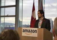 """亞馬遜宣佈新增1000個就業崗位,溫哥華要成為""""北方硅谷"""""""