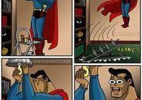 超級英雄搞笑漫畫27:惡靈騎士給摩托車加汽油 結果爆炸了
