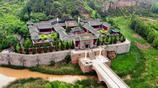中國最美的斗拱古建築木牌樓 在山西堯帝陵前 經歷八級地震無損壞