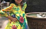 梁詠琪4歲混血女兒近照曝光,大眼睛高鼻樑顏值高到犯規!