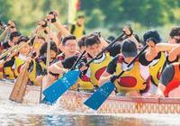 上海外國留學生賽龍舟