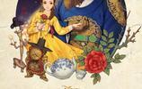《美女與野獸》珍藏海報