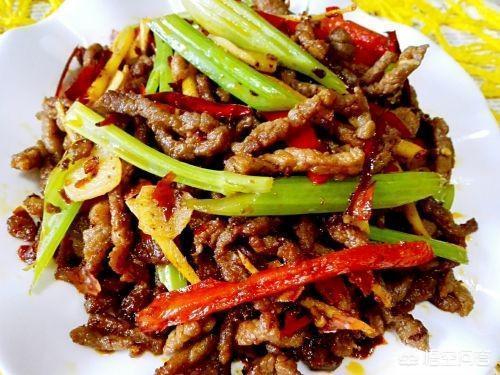 四川名菜乾煸牛肉絲怎麼做?