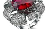 紅寶石豪華套裝首飾