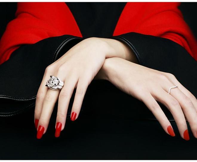 14個動物萌系戒指,首飾設計師開大招了,送女朋友這個指環真不虧