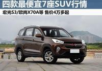 比本田CR-V還大,這幾款最便宜七座SUV又降價,低至4萬多起