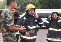 伊川:社會單位進紅門 體驗消防長技能