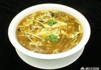 酸辣湯的做法是什麼?